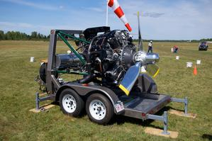 Wright R2600 engine rebuilt by Jerry Wilcox