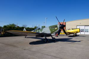 Spitfire XVI and Harvard IV