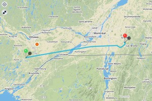 Smiths Falls to Bromont