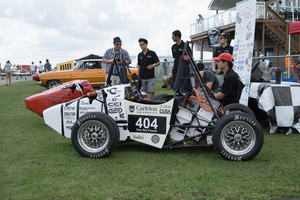 Carleton University Formula SAE cars and student design team