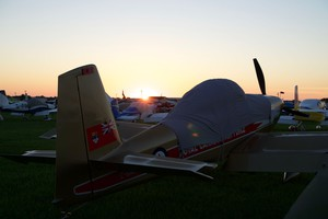 Sunrise in Homebuilt Camping